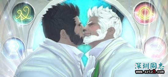 这个游戏要上天了,同性互动简直登峰造极