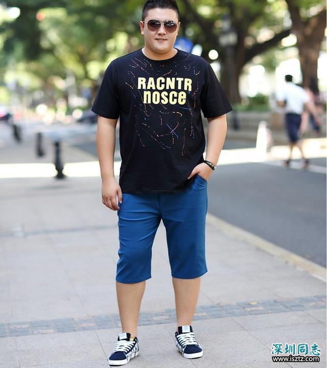 夏日胖胖男生穿搭技巧,这样穿也许会显瘦