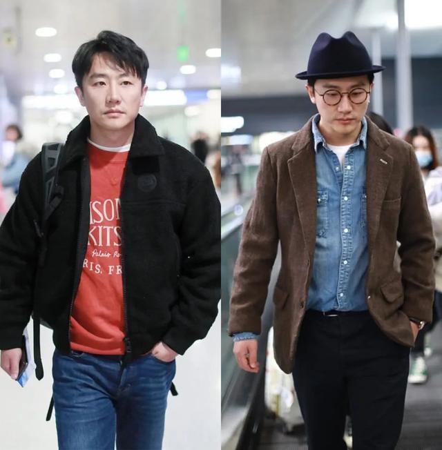 黄轩变换风格,造型低调帅气,这两组搭配轻松穿出时髦范